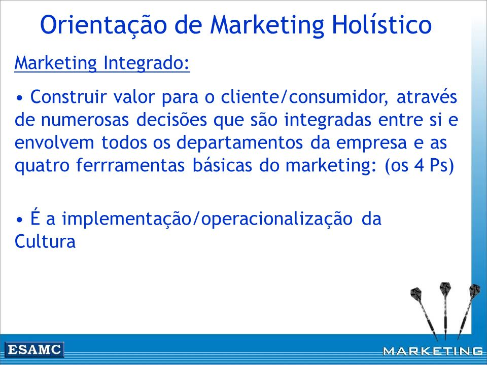 Orientação de Marketing Holístico