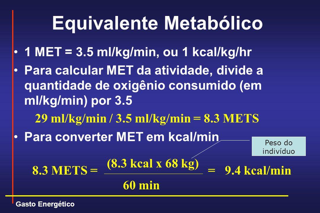 Equivalente Metabólico