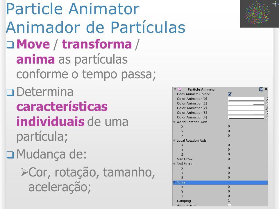 Particle Animator Animador de Partículas