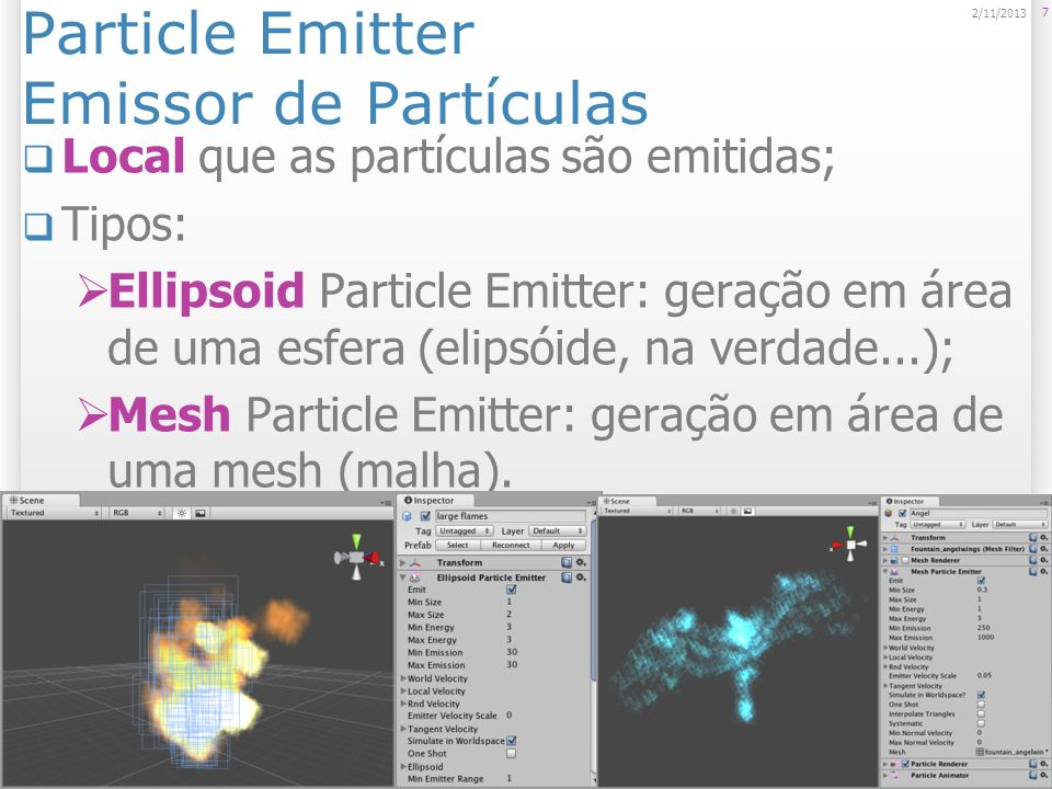 Particle Emitter Emissor de Partículas