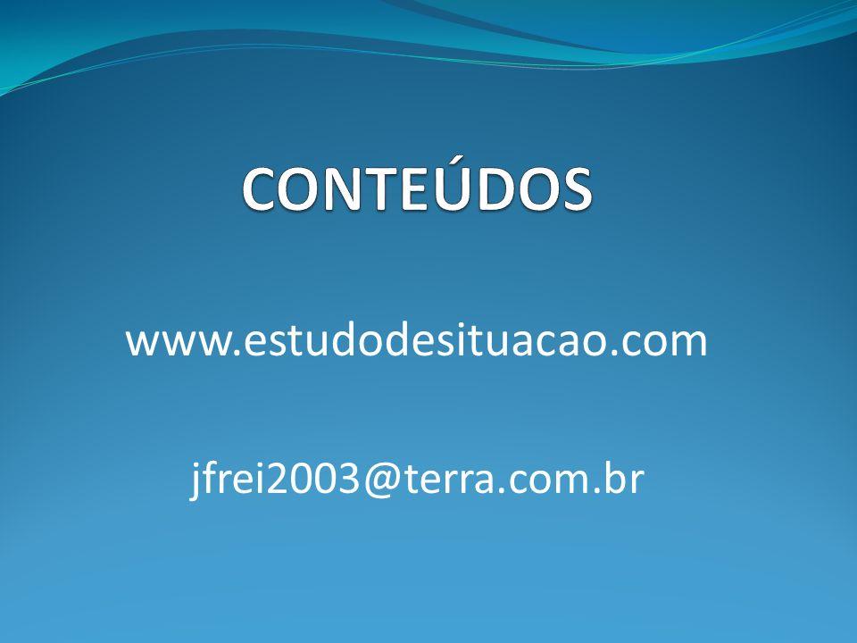 www.estudodesituacao.com jfrei2003@terra.com.br