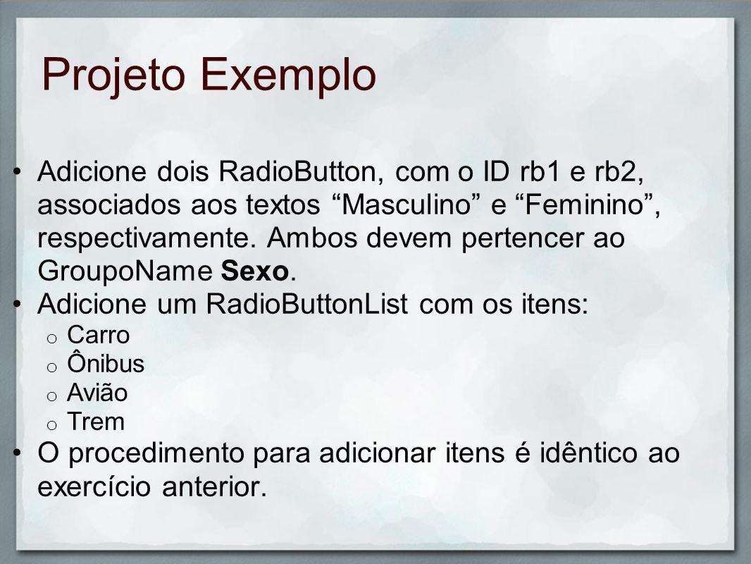 Projeto Exemplo