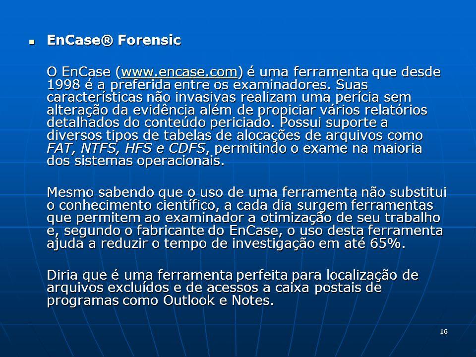 EnCase® Forensic