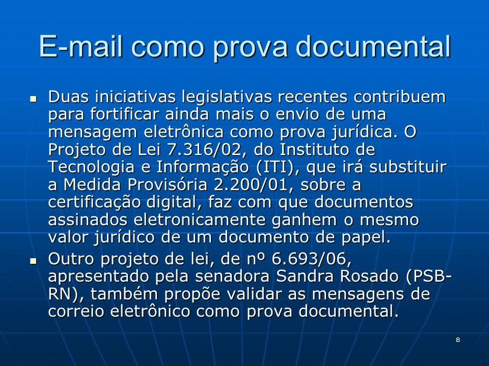 E-mail como prova documental