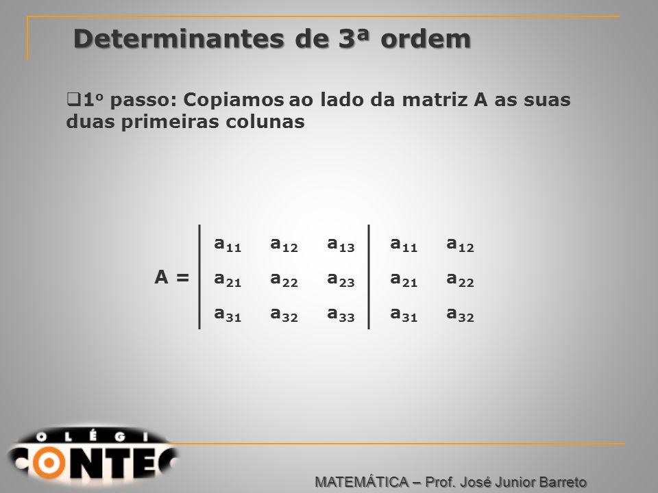 Determinantes de 3ª ordem