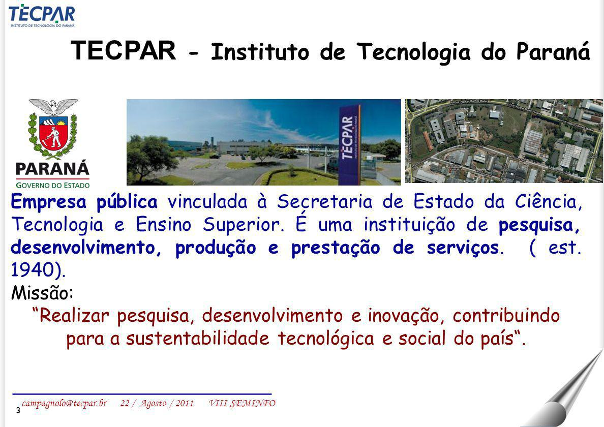 TECPAR - Instituto de Tecnologia do Paraná