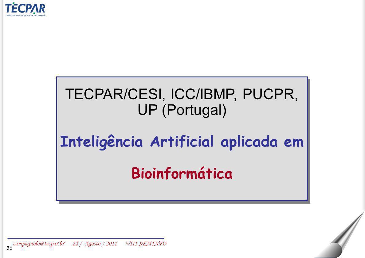 Inteligência Artificial aplicada em