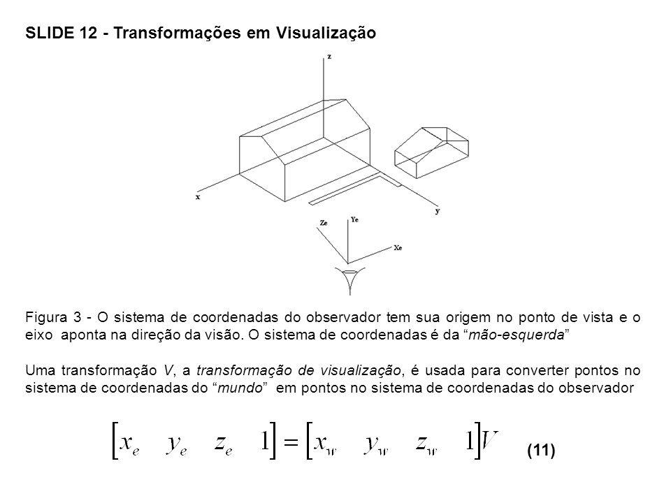SLIDE 12 - Transformações em Visualização