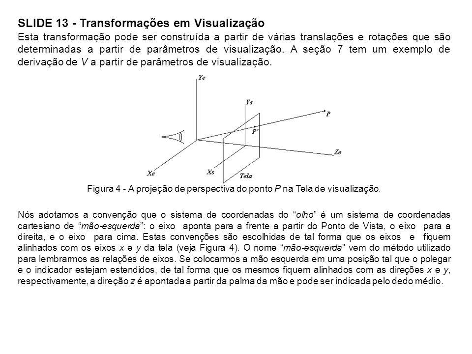 SLIDE 13 - Transformações em Visualização
