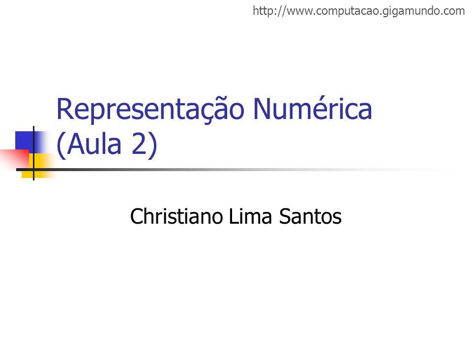 Representação Numérica (Aula 2)