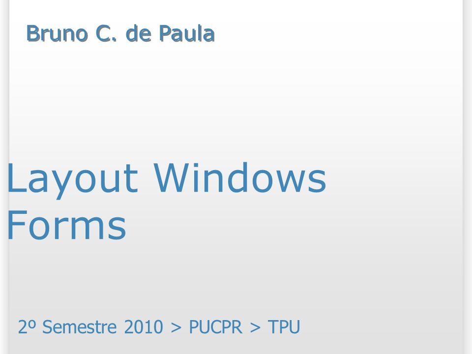 2º Semestre 2010 > PUCPR > TPU
