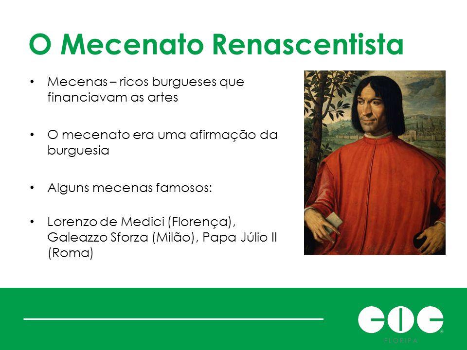 O Mecenato Renascentista