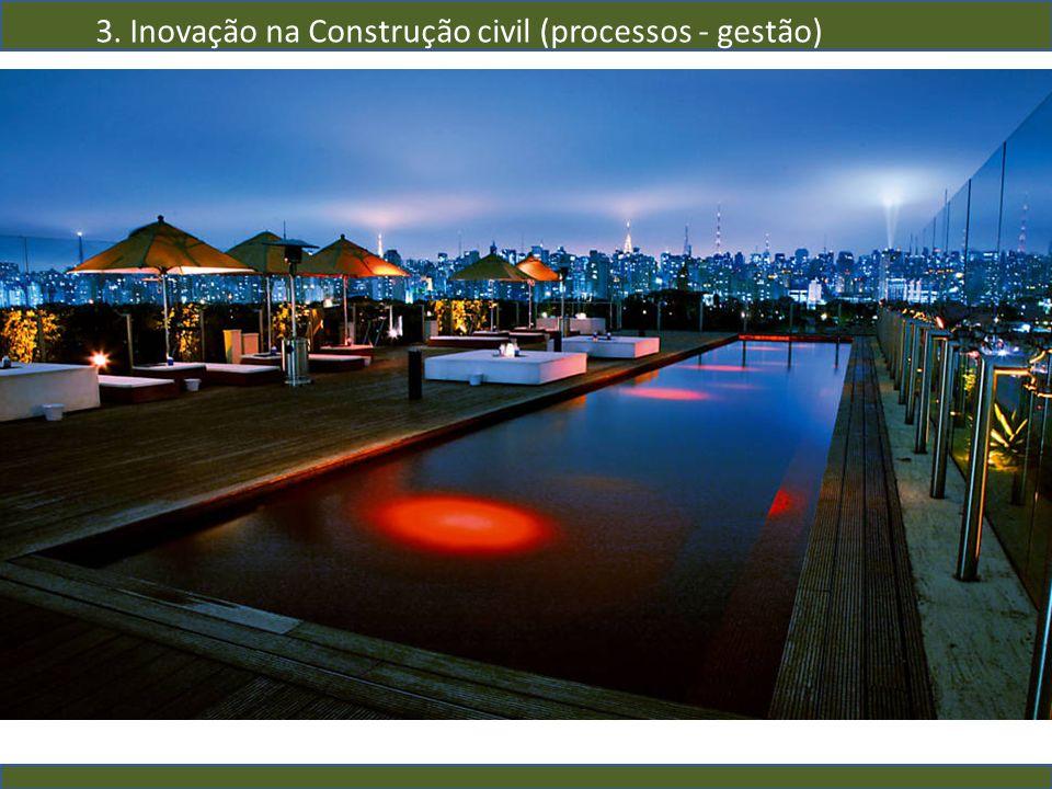 3. Inovação na Construção civil (processos - gestão)