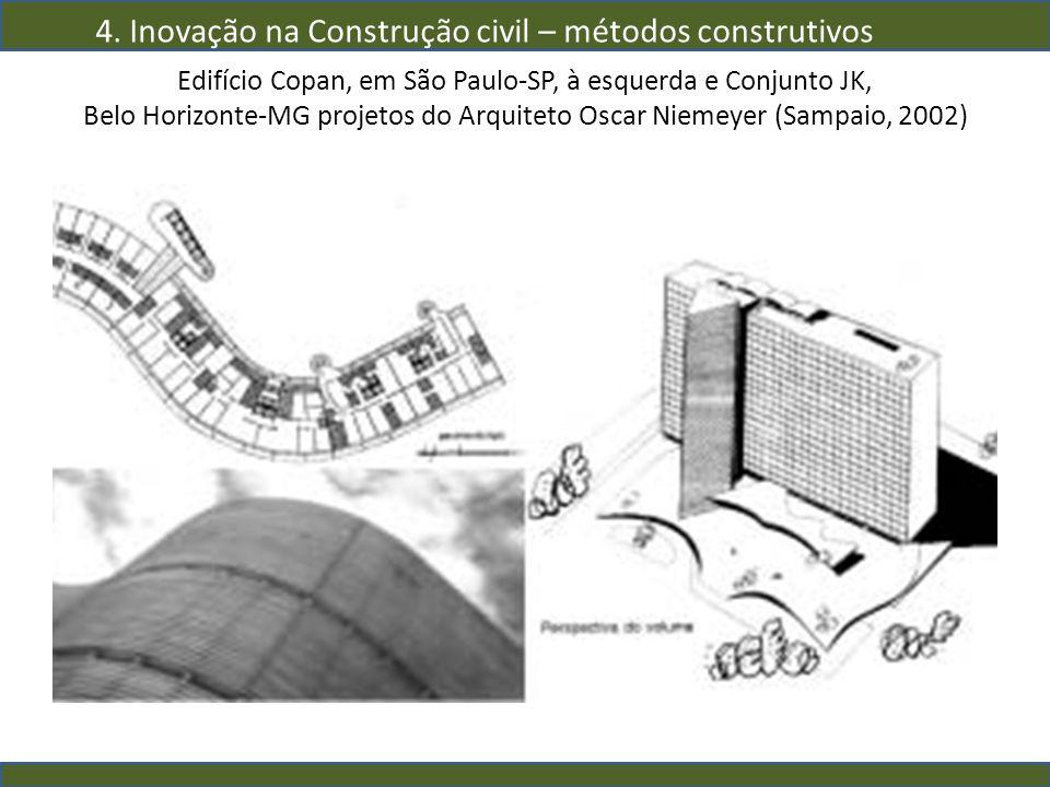 4. Inovação na Construção civil – métodos construtivos