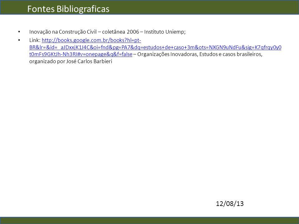 Fontes Bibliograficas