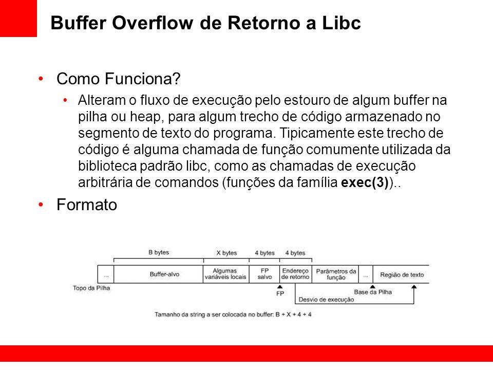 Buffer Overflow de Retorno a Libc