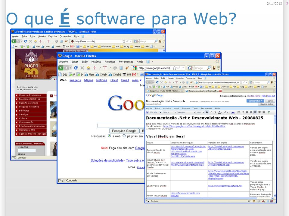 O que É software para Web