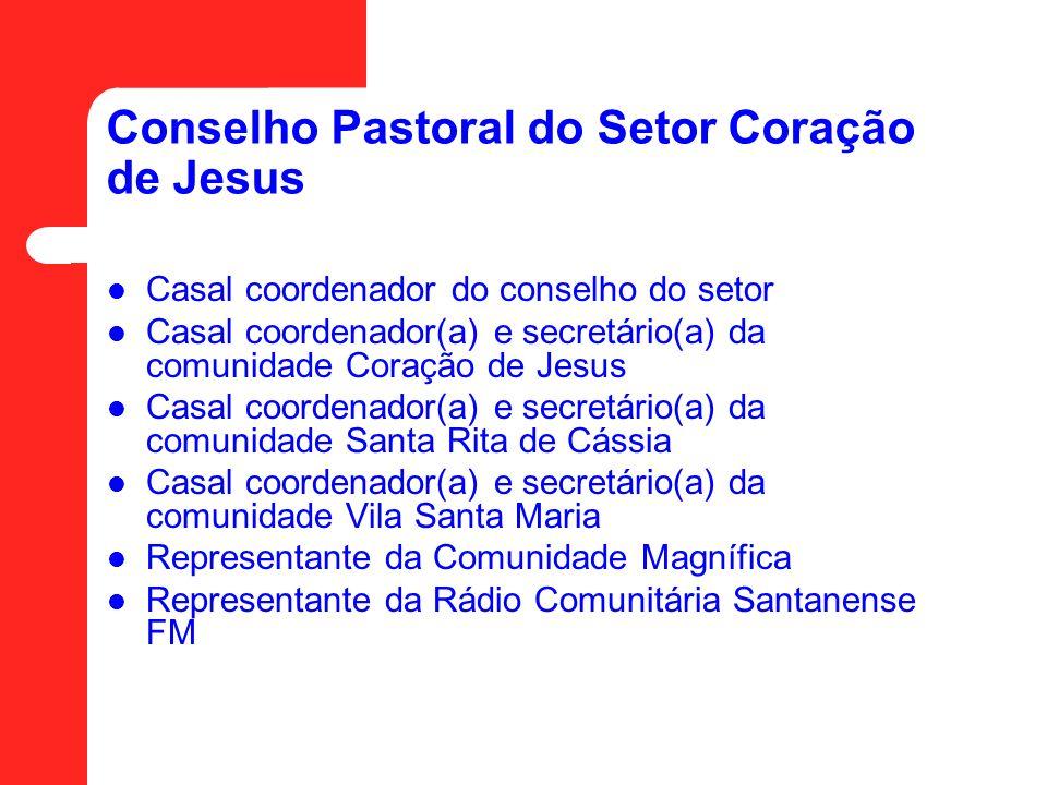 Conselho Pastoral do Setor Coração de Jesus