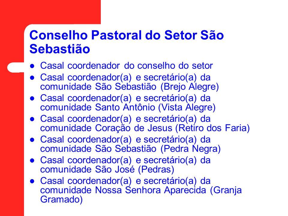 Conselho Pastoral do Setor São Sebastião