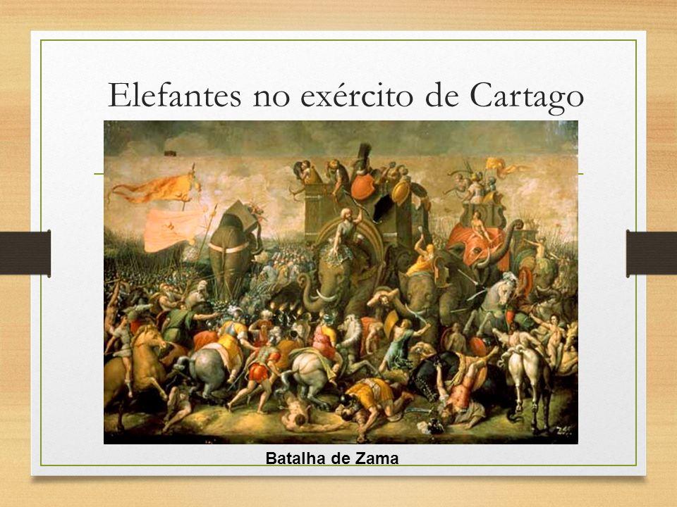 Elefantes no exército de Cartago