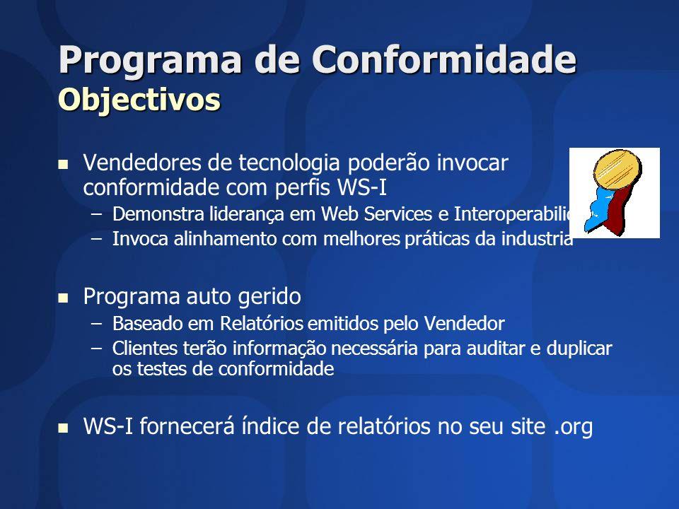 Programa de Conformidade Objectivos