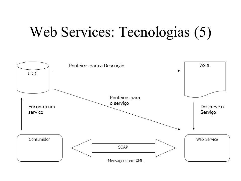 Web Services: Tecnologias (5)