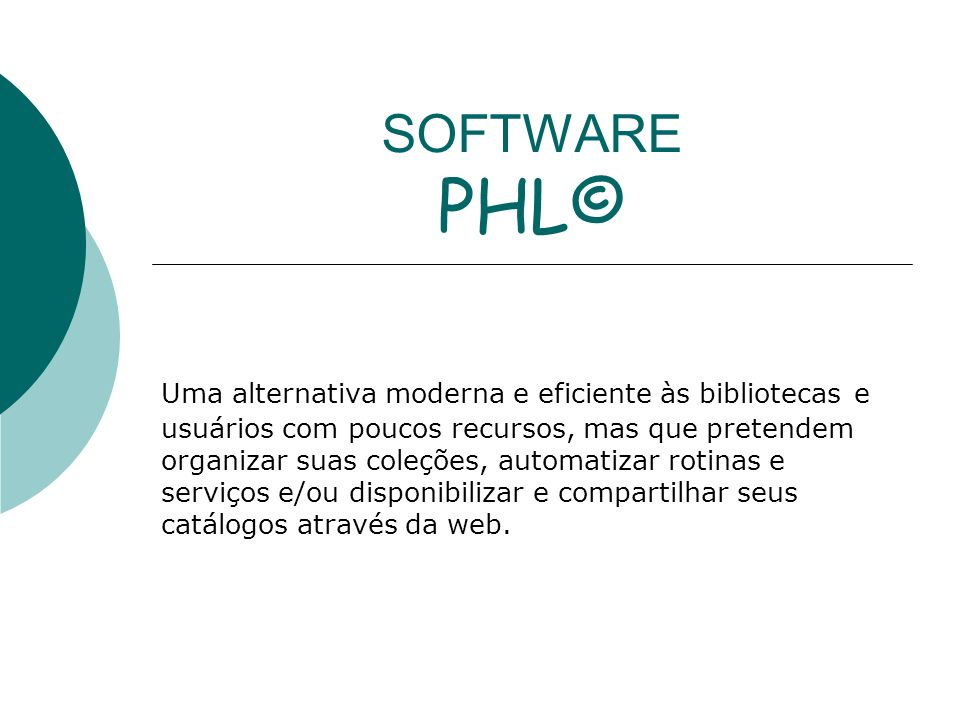 SOFTWARE PHL©