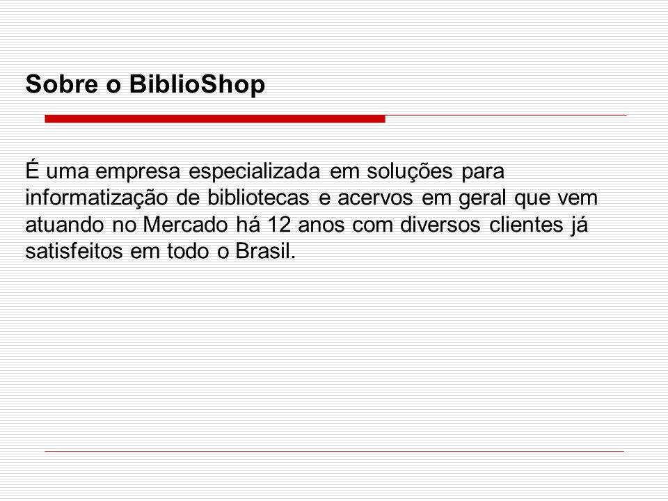 Sobre o BiblioShop
