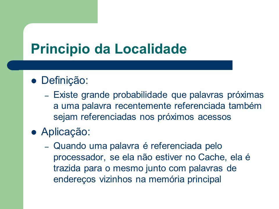 Principio da Localidade