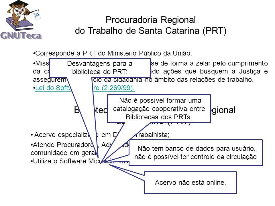 Procuradoria Regional do Trabalho de Santa Catarina (PRT)