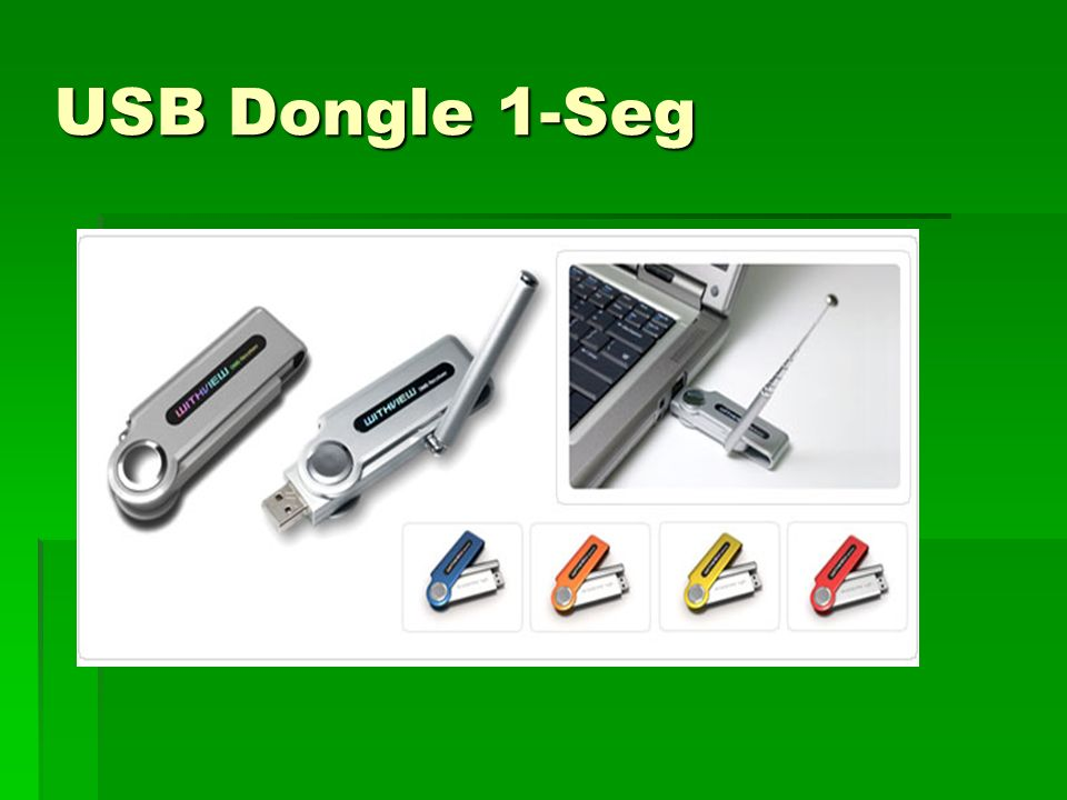 USB Dongle 1-Seg