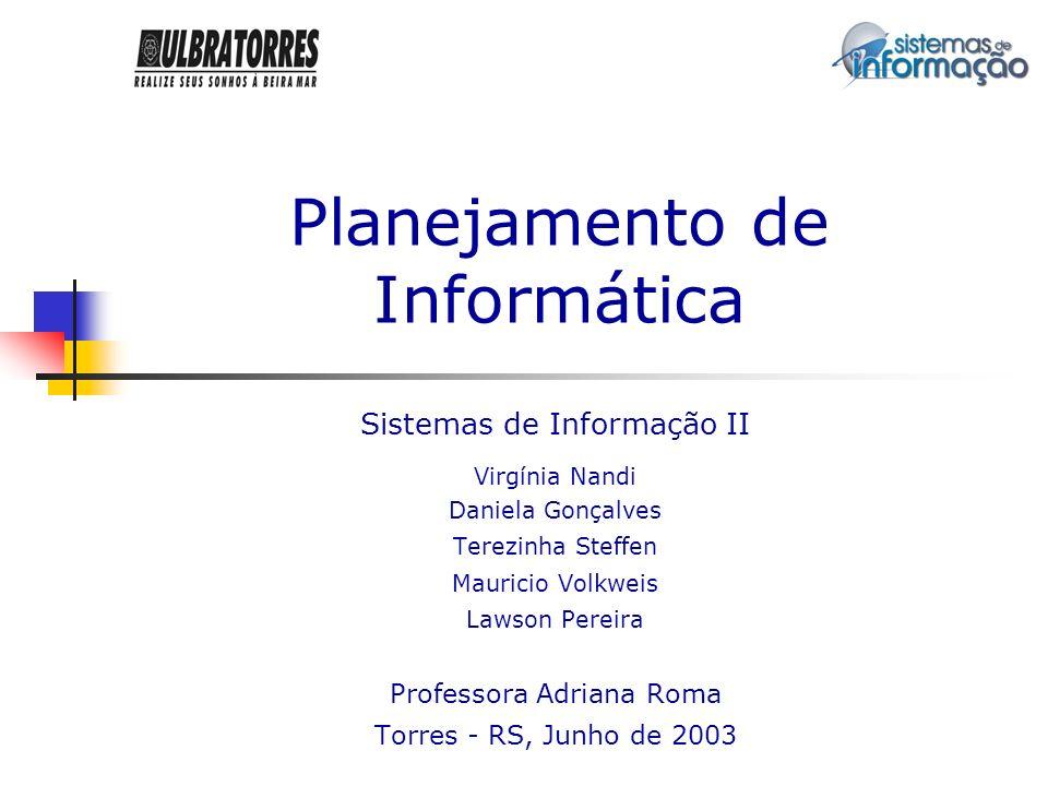 Planejamento de Informática