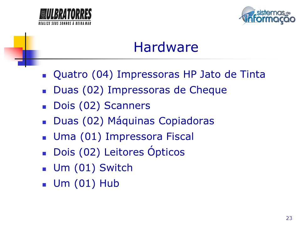 Hardware Quatro (04) Impressoras HP Jato de Tinta
