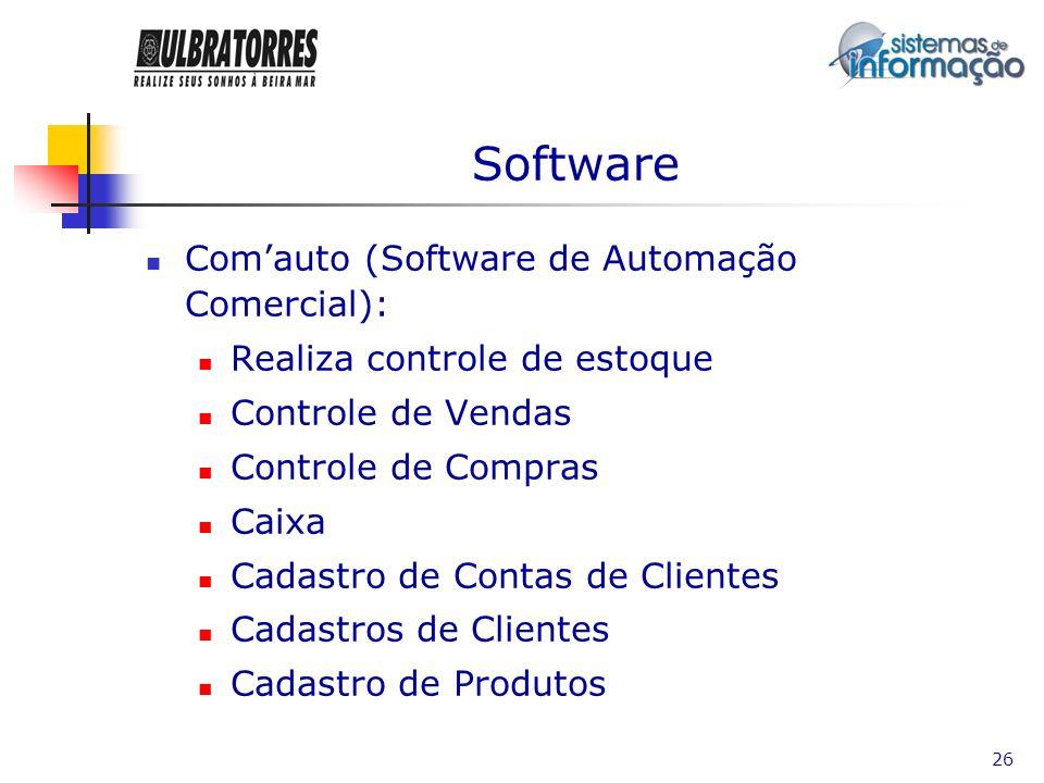Software Com'auto (Software de Automação Comercial):