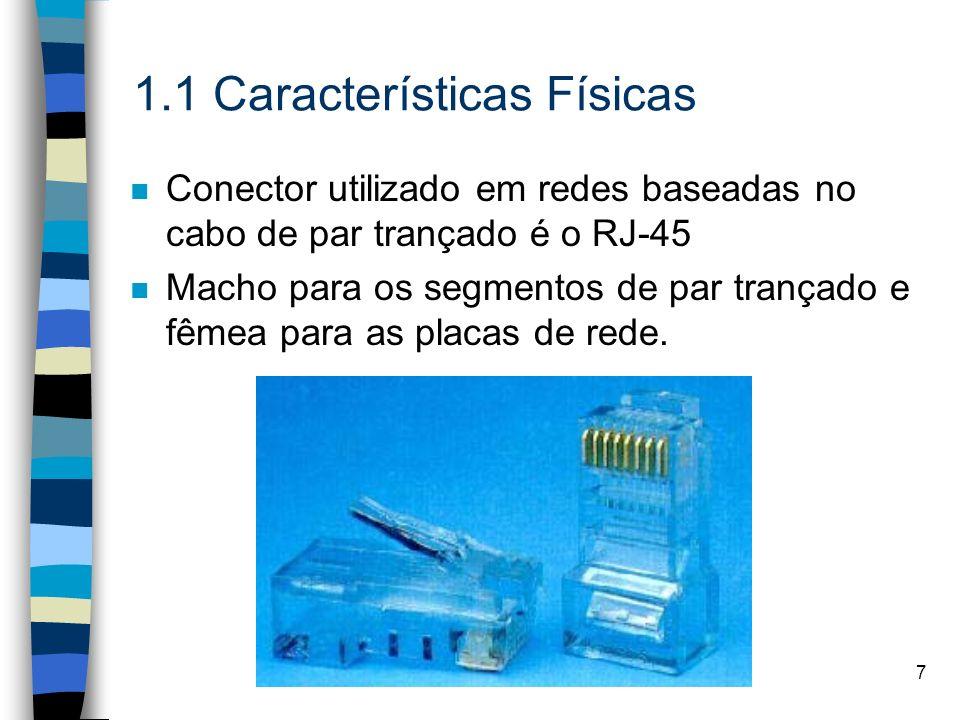 1.1 Características Físicas