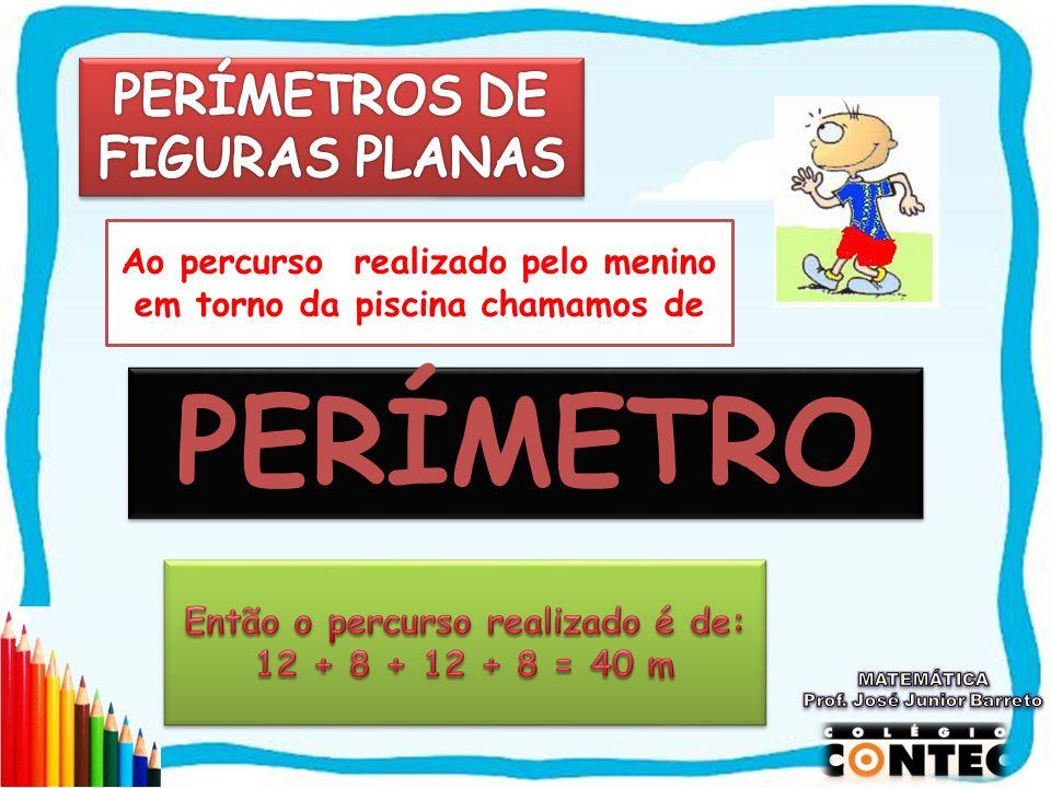 PERÍMETRO PERÍMETROS DE FIGURAS PLANAS