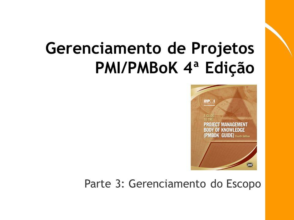 Gerenciamento de Projetos PMI/PMBoK 4ª Edição