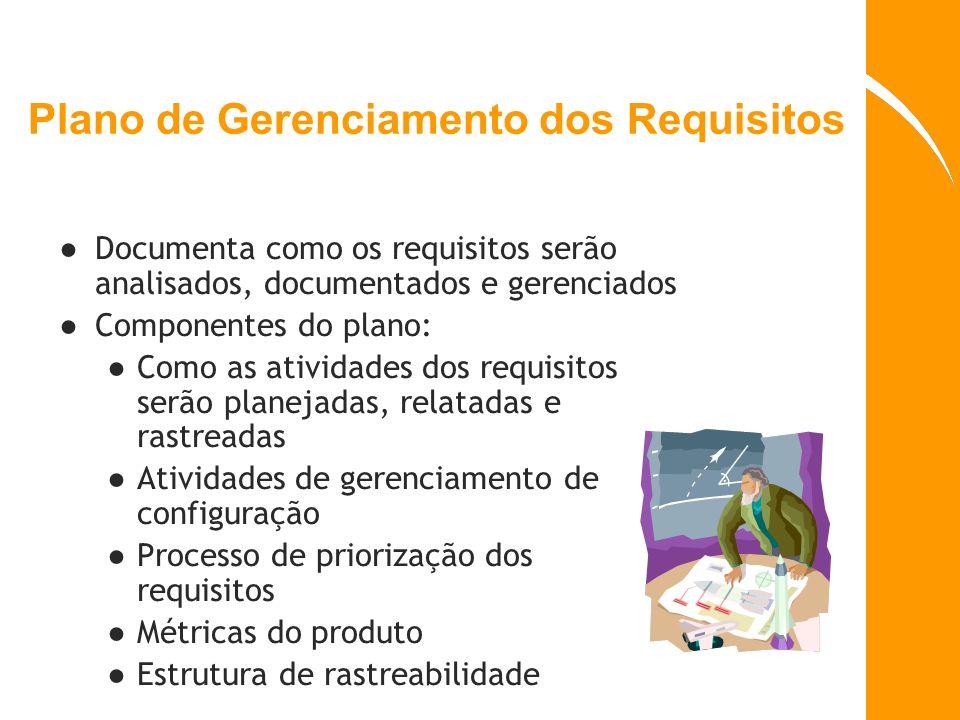 Plano de Gerenciamento dos Requisitos