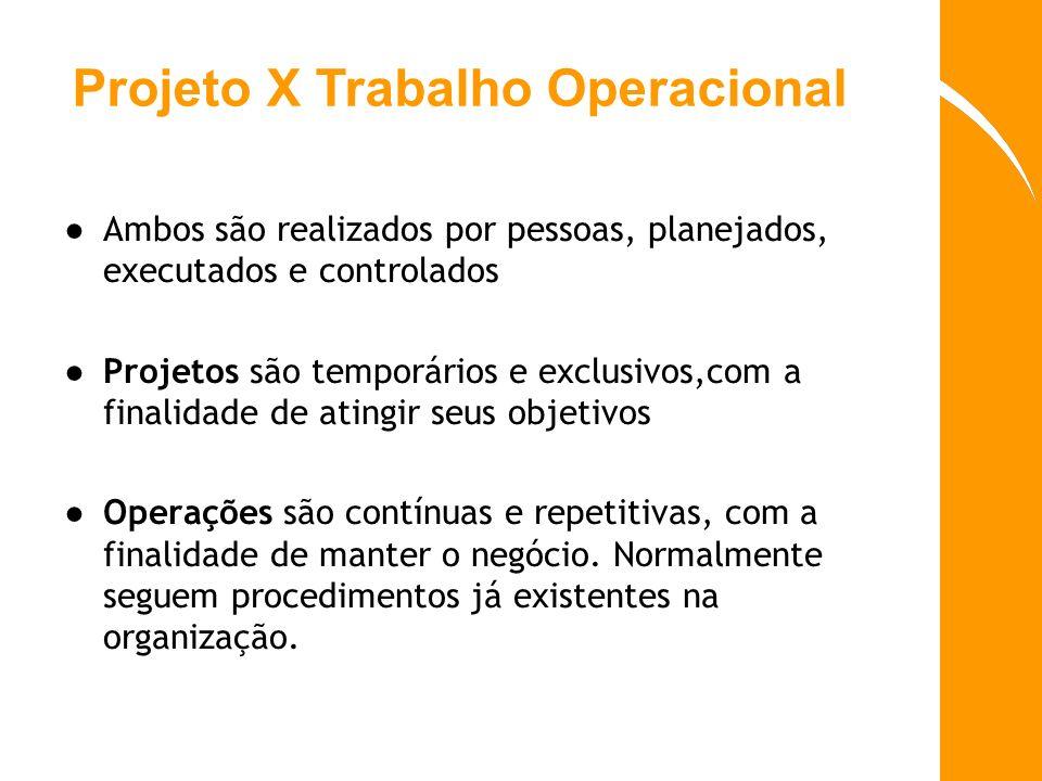 Projeto X Trabalho Operacional