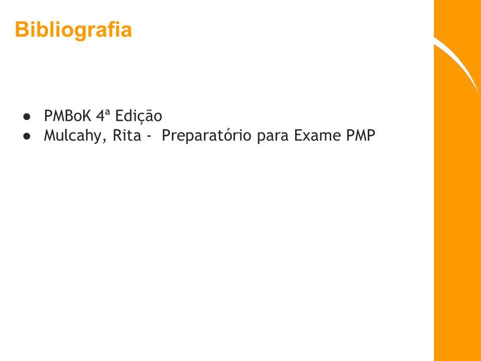 Bibliografia PMBoK 4ª Edição