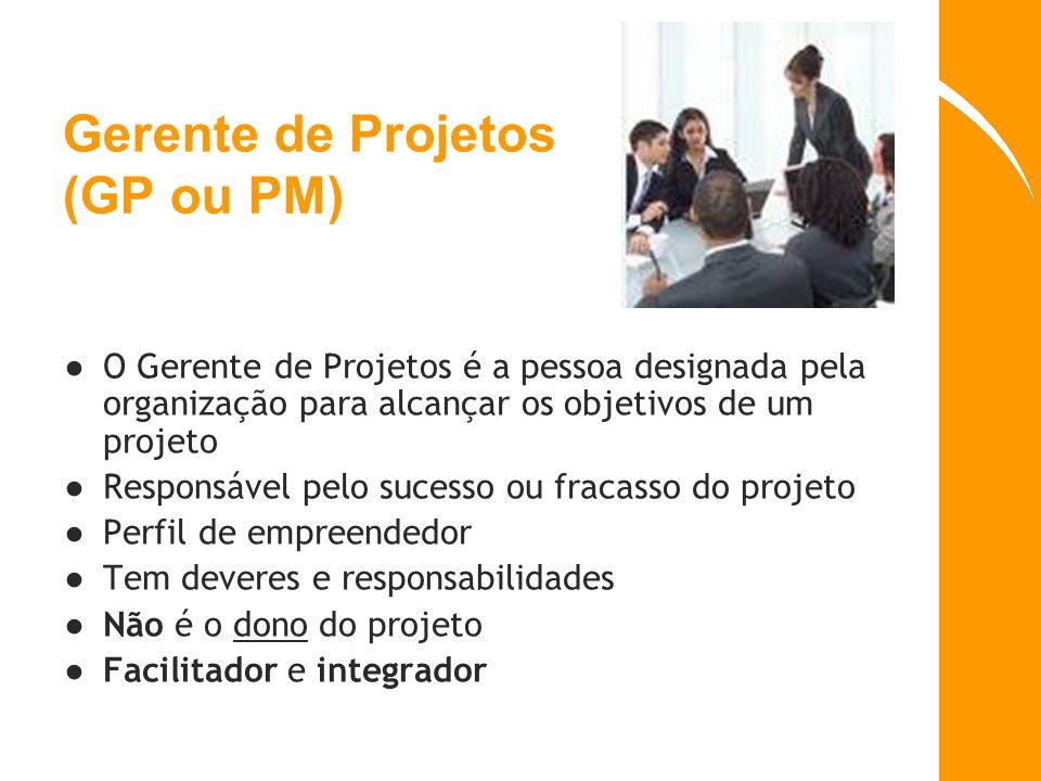 Gerente de Projetos (GP ou PM)