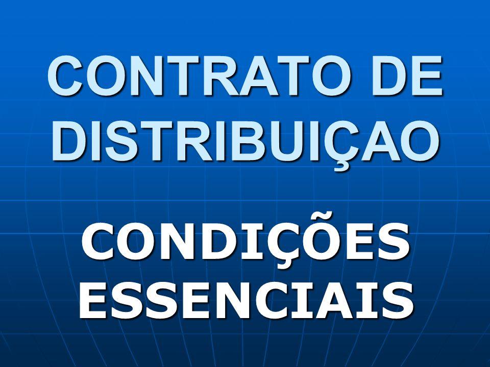 CONTRATO DE DISTRIBUIÇAO