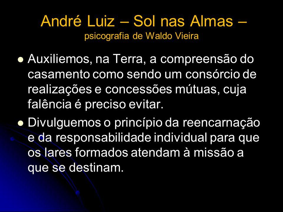André Luiz – Sol nas Almas – psicografia de Waldo Vieira