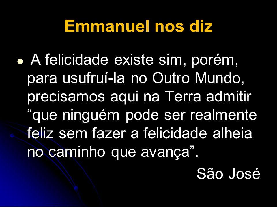 Emmanuel nos diz São José