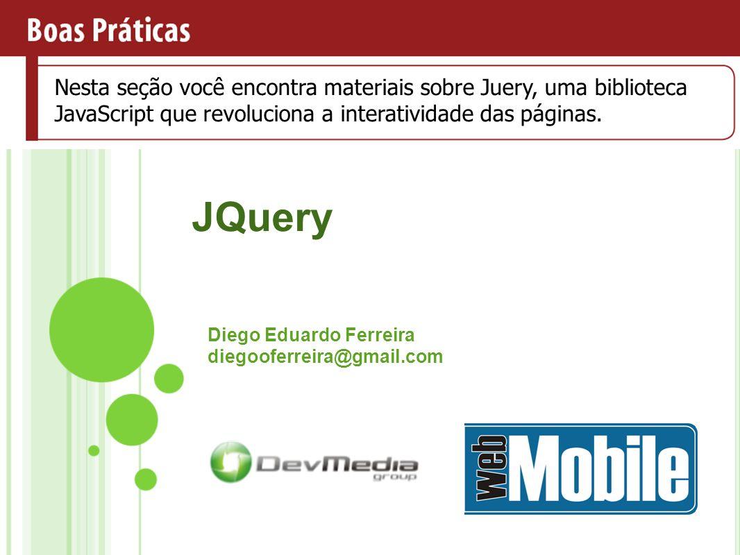Diego Eduardo Ferreira diegooferreira@gmail.com