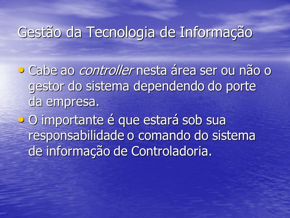 Gestão da Tecnologia de Informação