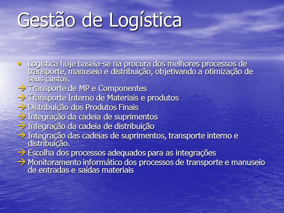 Gestão de Logística