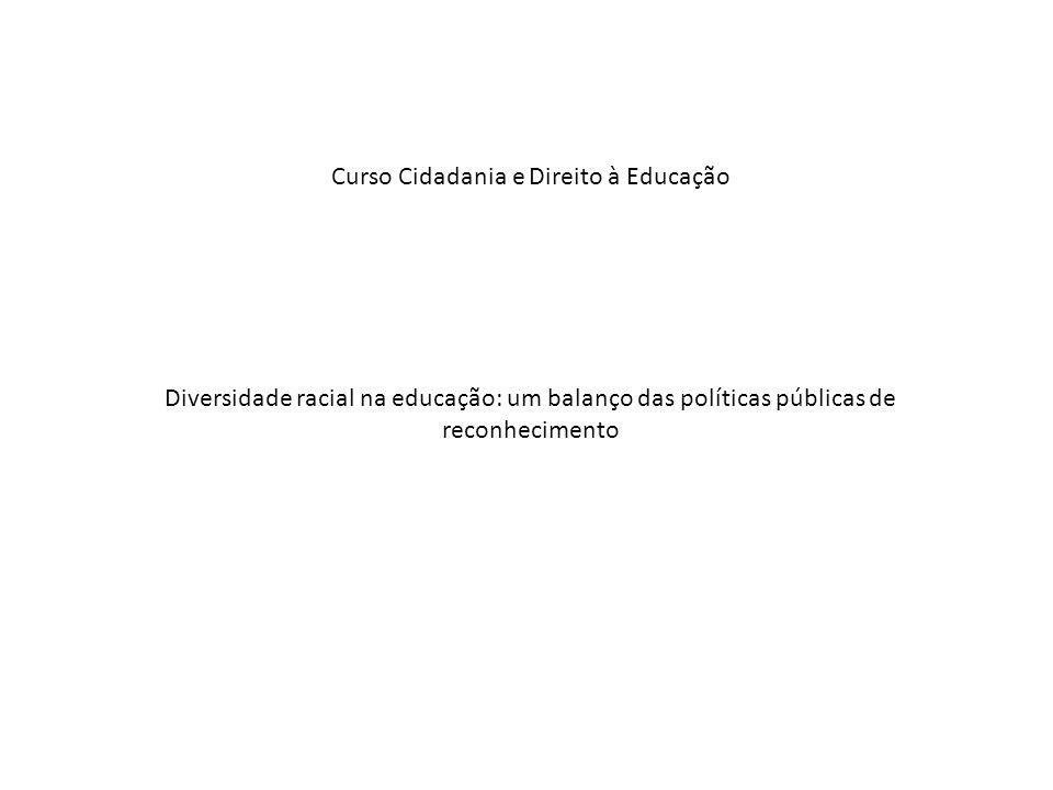 Curso Cidadania e Direito à Educação