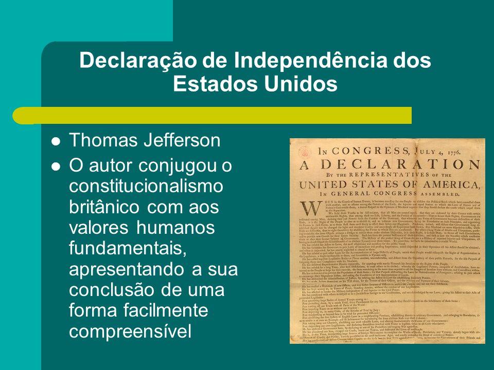 Declaração de Independência dos Estados Unidos