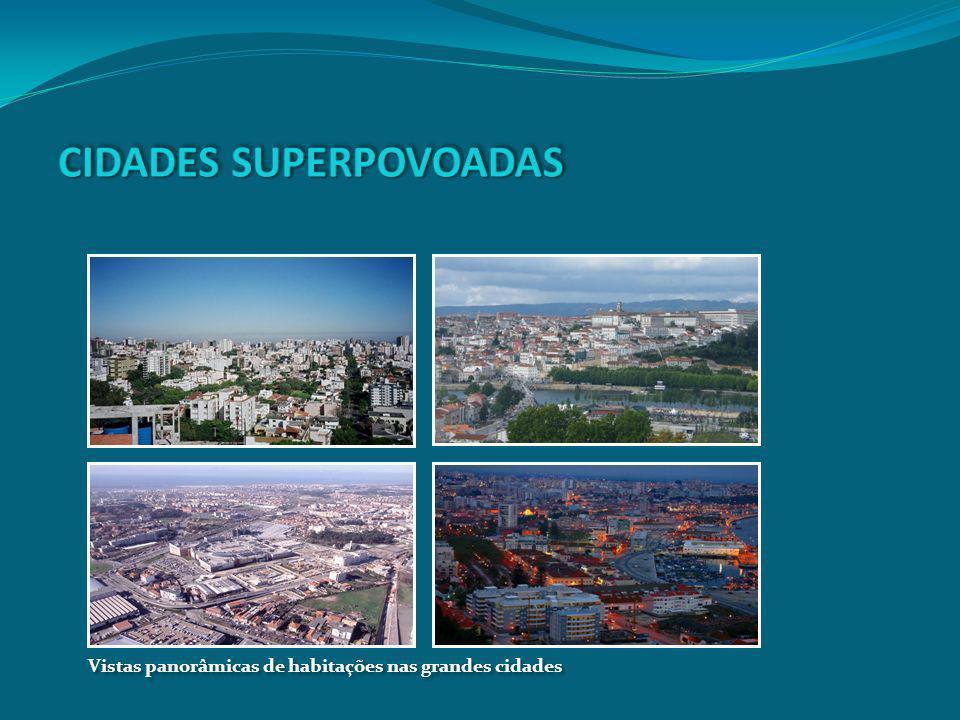 CIDADES SUPERPOVOADAS